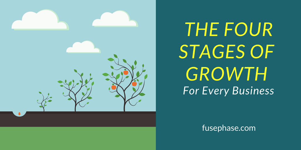 The Four Stages of Business Growth   FusePhase Accounting