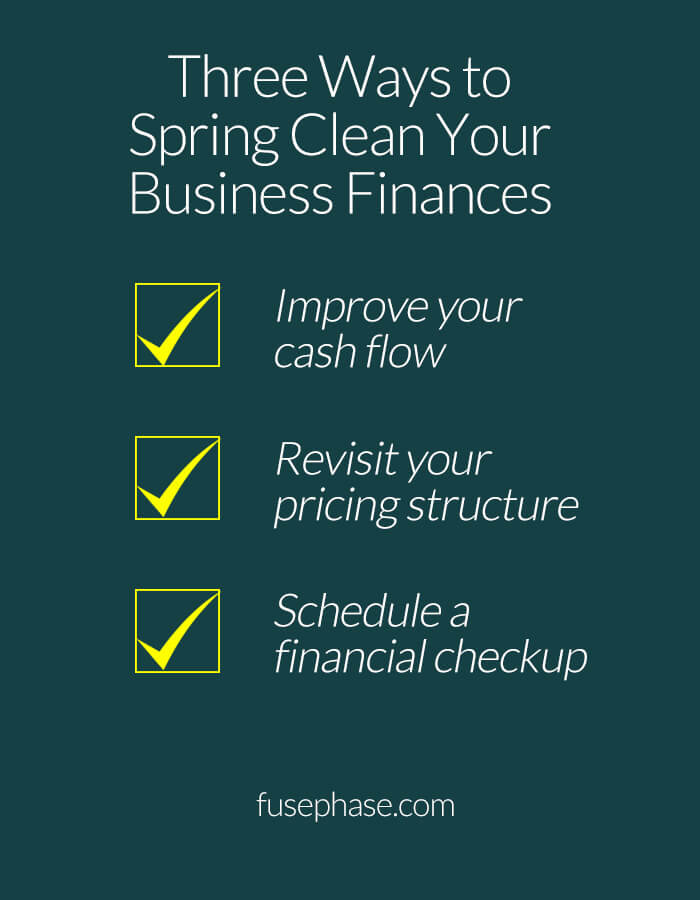 spring clean your business finances