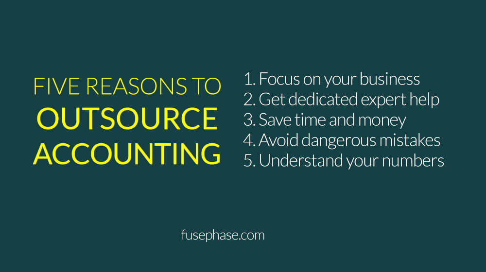 5 Reasons to Outsource Accounting