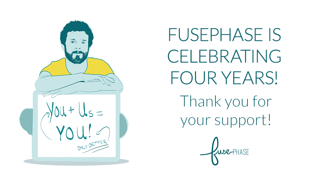 FusePhase Accounting is celebrating four years!