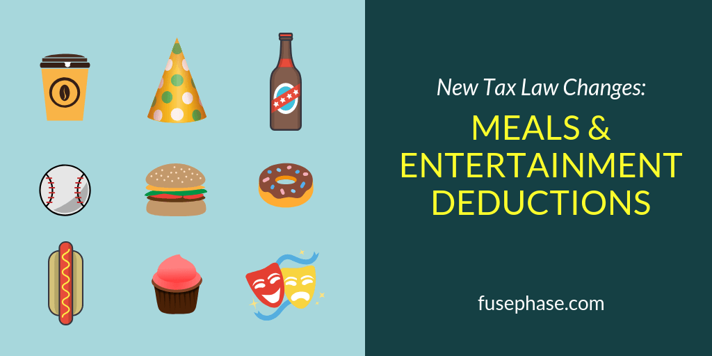 Meals and Entertainment Deductions| FusePhase Accounting